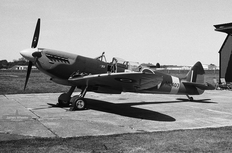 ML407, The Grace Spitfire